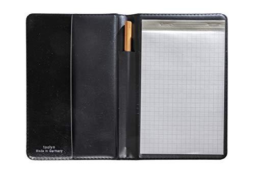 Tooly Kunstleder Schreibmappe DIN A 6, Block ist schmäler,Tooly Kunstleder Mäppchen. Made in Germany - keine Importware