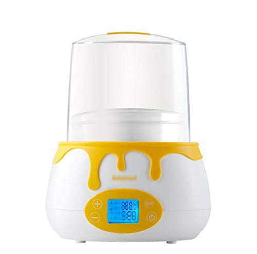 Baby Double Bottle Constant Warmer, Smart Milk Warmer sterilisator 2-in-1, 45 ℃ Constant warme melk, High Temperature desinfectie, Ontdooide moedermelk, Babyvoeding Heater