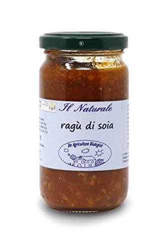 Carioni Food & Health Ragu saus met getextureerde soja, milieuvriendelijk en veganistisch, 190 g (6 stuks)