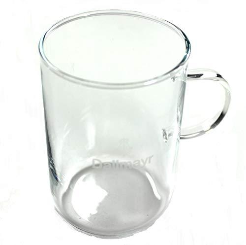 Dallmayr Gläser 6er Set Teeglas mit Henkel sehr dünnes Glas ~mn 676 1032