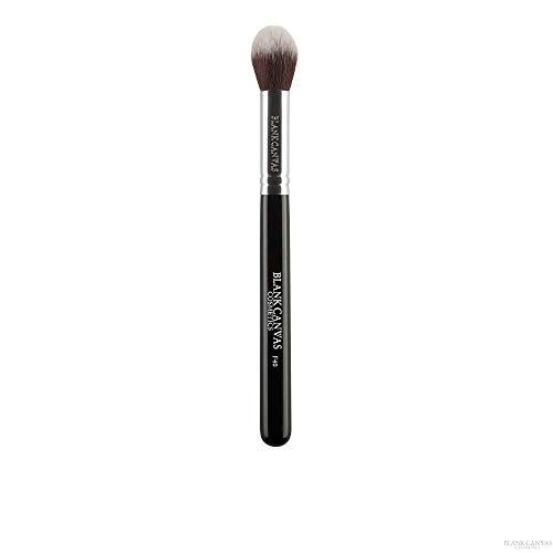 Blank Canvas F40 Pinceau de maquillage multi-usage Contour effilé Argenté/Noir Argent Noir 1 Unités