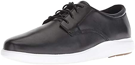 Cole Haan Men's Grand Plus Essex Wedge Oxford Loafer, Black/Optic White, 9 M US