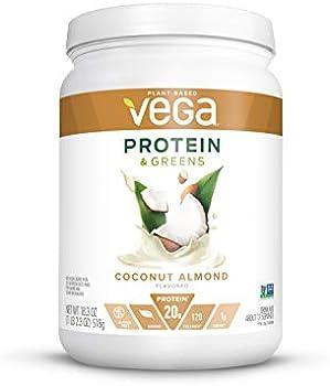 Vega Plant Based Protein Powder, Dairy Free, Lactose Free, 18.3 Oz