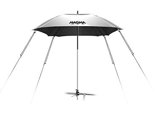 Magma Products, B10-403 Cockpit 100-Percent UV Block Reflective Umbrella, Silver