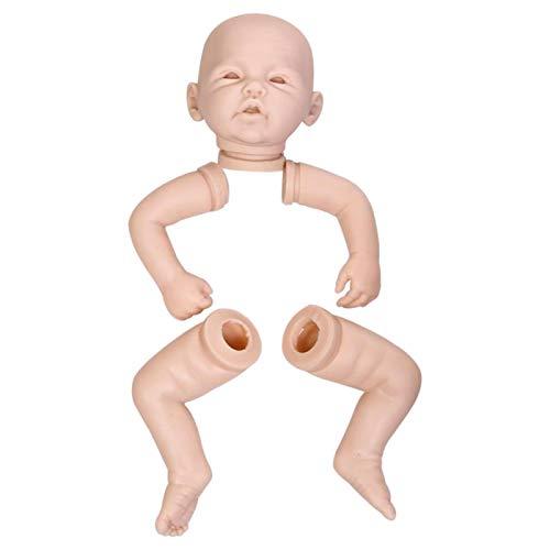 Kits de muñecas Reborn, Suministros para Hacer muñecas en Blanco, Kit de muñecas sin Pintar de 20 Pulgadas, Silicona, Vinilo