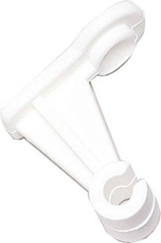 Wandbefestigung 573350 weiß für Spaliere, mit SB-Reiter