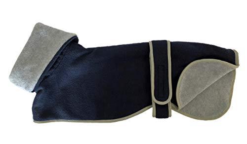 Abrigo de Cosipet para perro de caza, color azul - gris: Amazon.es ...