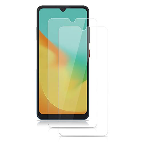 Panzerglas für ZTE Blade A7 2019 Schutzfolie 2 Stück Panzerglasfolie 9H Härte Displayschutz Anti-Kratzen Tempered Glass Screen Protector 2.5D Runde Schutzglas HD Klar Folie für ZTE Blade A7 2019