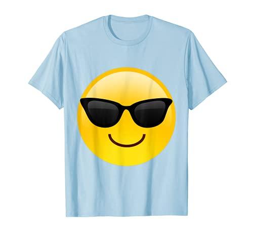Mr Happy Cool Shades - Gafas de sol con diseño de cara sonriente Camiseta