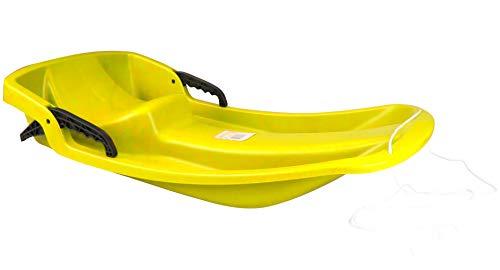 Sport Otto Schlitten Kunststoff (gelb)