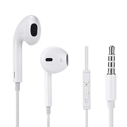 Blazze In Ear-Kopfhörer mit Mikrofon Ohrhörer Magnetische In-Ear-Kopfhörer Kopfhörer mit Mikrofon und Lautstärkeregler Android-Smartphones, MP3-Player