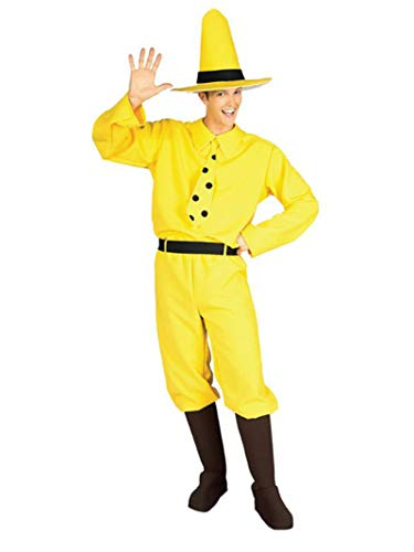 Rubie's Curious George Man In The Hat, Yellow, One Size