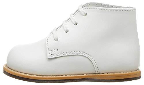 Josmo baby girls Unisex Walking First Walker Shoe, White, 3 Infant US
