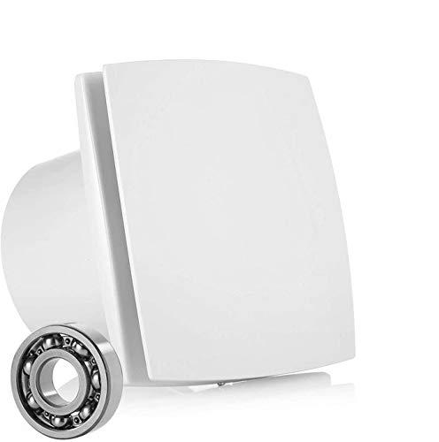 HG Power 150mm Ventilador Extractor de Aire Silencioso 201m³/h para Oficina, Baño, Dormitorio