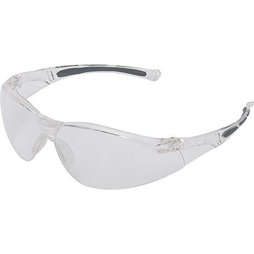 Honeywell 1015369 A800 Sporty Safety Eyewear Frame with Clear Fogban/Anti-Scratch Lens - Translucent