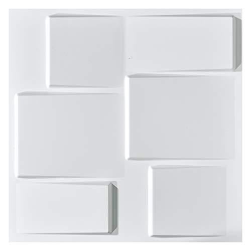 Art3d Architectural 3D Wall Panels Textured Design Art Pack of 12 Tiles 32 Sq Ft