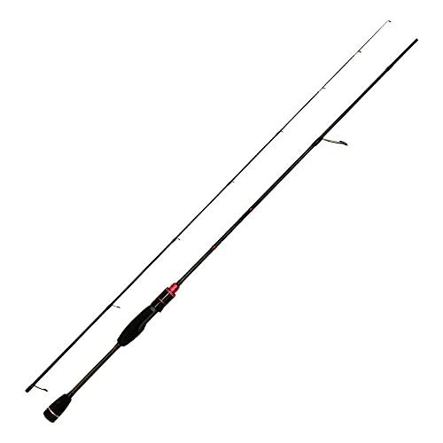 HTO Caña de Pescar Unisex Aikido, Color Negro, 1,98 m