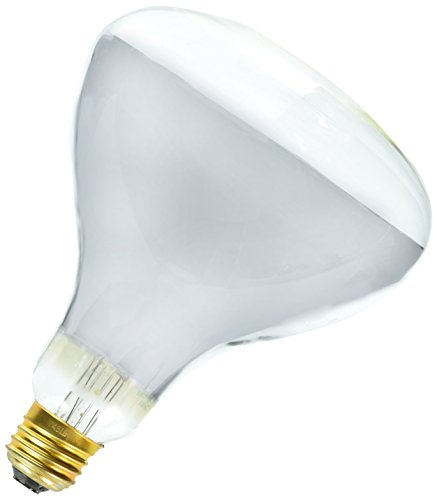 Westinghouse Lighting 0348400, 250 Watt, 120 Volt Clear Infrared Heat Incandescent R40 Light Bulb - 5000 Hours