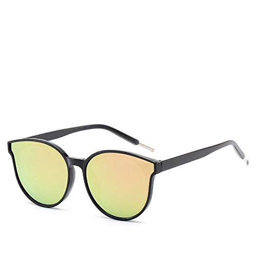 Gosunfly Gafas de sol retro gafas de sol de montura redonda moda gafas de sol de pasta colorida Sra. Sewage-E