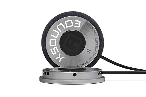 IASUS XSound 3 High Definition Helmet Speaker with a 3.5mm...