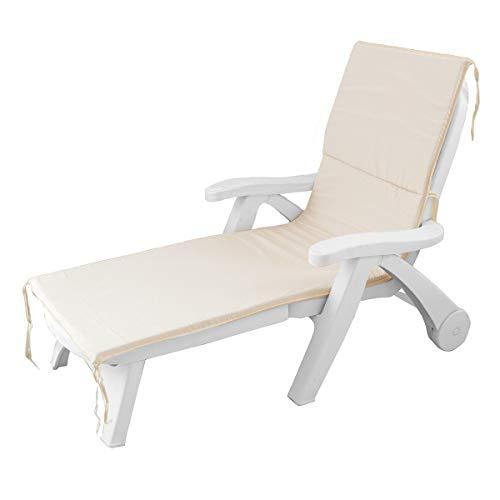 Cuscino per lettino prendisole per esterno giardino sdraio 60x190 cm cm AA370