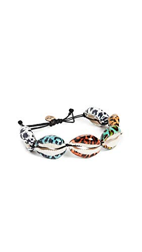 Maison Irem Women's Multiple Leopard Shell Bracelet, Multi, One Size