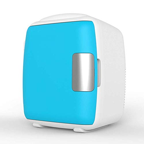 Electric Cooler Warmer 9L High Capacity, Portable Cool Box Mute Working, Small Car Refrigeration Freezer for Car and Home,Blue (Size : Blue)