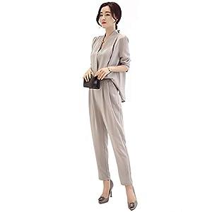 FREIE LIEBE(フレイリビ) スーツパンツ 上下 セットアップ スーツセット ビジネススーツ フォーマル スーツ 入学式 卒業式 2点セット オフィス オールインワン レディース 女性 エレガント
