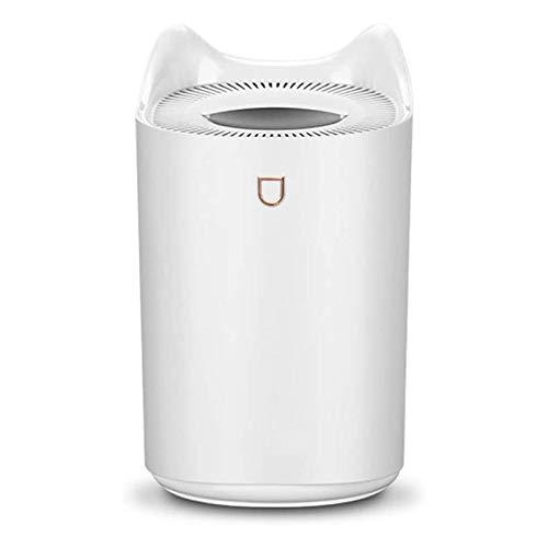 GRSTREE Humidificadores de 3 L para dormitorio, humidificador grande de niebla fría, humidificador de aire para oficina, hogar, apagado automático, 3 modos de niebla, súper silencioso