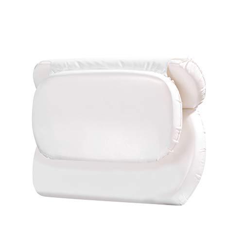 Bath Pillow - Spa Luxetique Bathtub Pillow, Ergonomic Bath Pillows for Tub Neck and Back Support, Luxury Spa Bath Pillow for Women or Men.