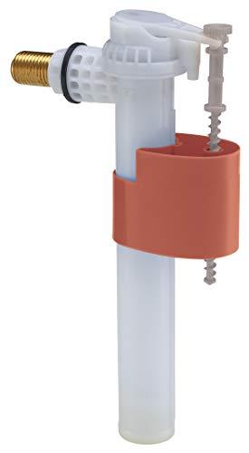 SOMATHERM FOR YOU - Robinet flotteur pour WC à alimentation latérale - Ajustable et résistant - Universel, économique et adaptable - Raccord laiton M12/17 (3/8) - Filtre intégré - Garantie 10 ans