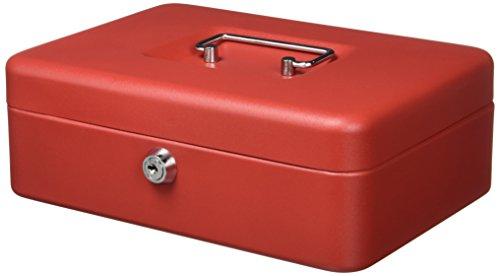 Q-Connect - Scatola portatutto 250x180x90 Mm rosso