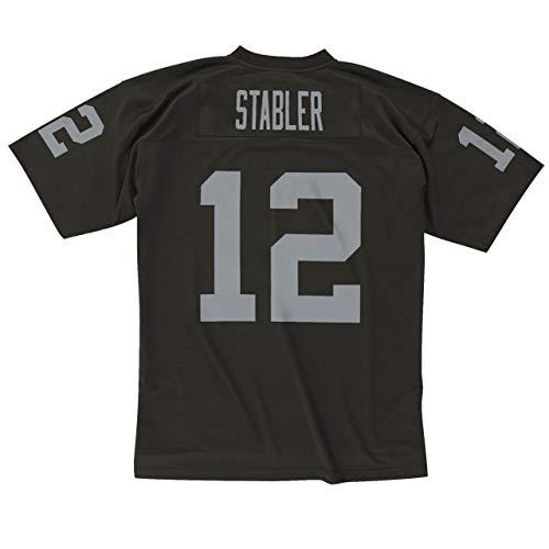 Ken Stabler Oakland Raiders Legacy 1976 Replica Jersey (Large) Black