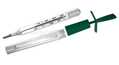 Romed Holland classic Fieberthermometer, quecksilberfrei mit Plastik-Schutzhülle