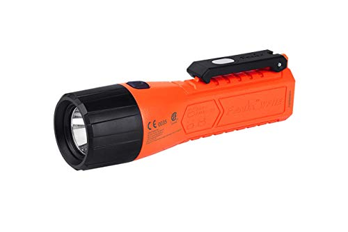 Fenix by LightMen WF11E LED Intrinsically Safe Explosion-Proof India, Flameproof ATEX approved in Zones 0, 1, 2, 20, 21, 22, and around gases IIA, IIB, IIC 200 Lumens FLP Torch