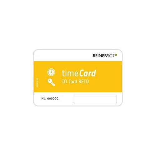 Reiner SCT timeCard RFID-Chipkarte, 1er Pack