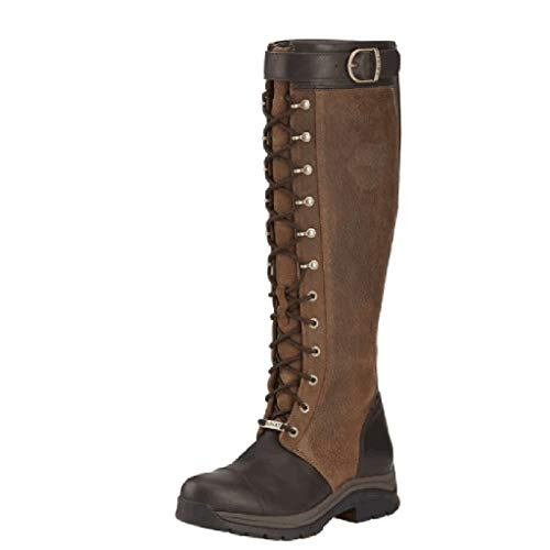 Luckycat Botas Altas para Mujer Equitación Muslo Invierno Biker Zapatos Moda Alto Pirata Botas con Cordones