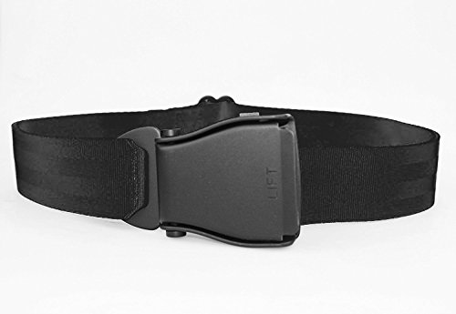 Flying-Belt Ceinture d'avion Noir/noir
