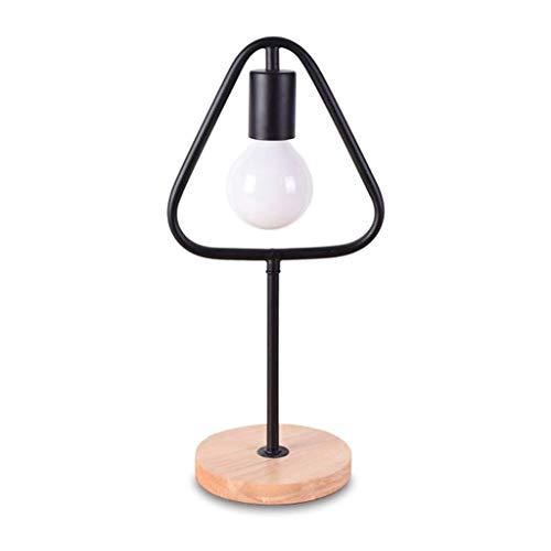 Lámparas de escritorio LED lámpara de mesa de hierro del triángulo LED lámpara de escritorio contemporáneo minimalista diseño de iluminación de hierro forjado de escritorio del dormitorio de noche lám