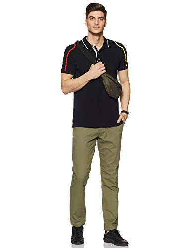 Amazon Brand - House & Shields Men's Straight Fit Casual Trousers