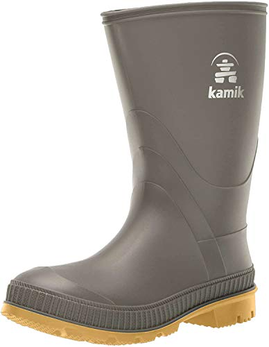 Kamik Stomp Rain Boot , Olive, 6 M US Big Kid
