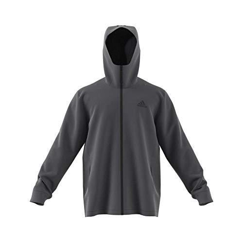 adidas Herren BSC 3-Stripes RAIN.RDY Jacke, Grefiv, XL