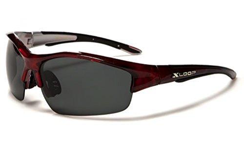 X-Loop ® Aurora Gafas de Sol Polarizadas - Deporte - Esqui - Ciclismo - UV400 (UVA y UVB)