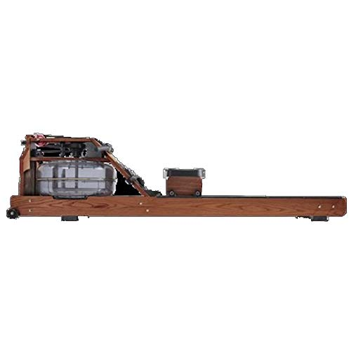 Why Choose Rowing Machine Mute Rowing Machine Solid Wood Monorail Track Rowing Machine Exercise Body...