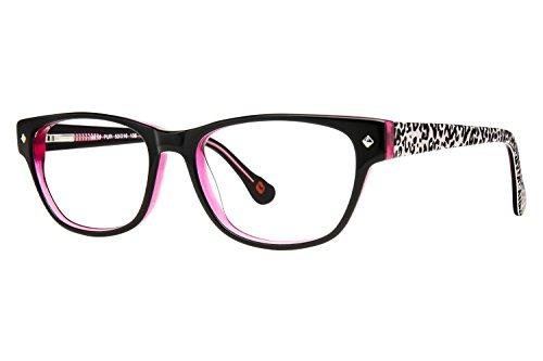 Hot Kiss HK10 Childrens Eyeglass Frames - Purple