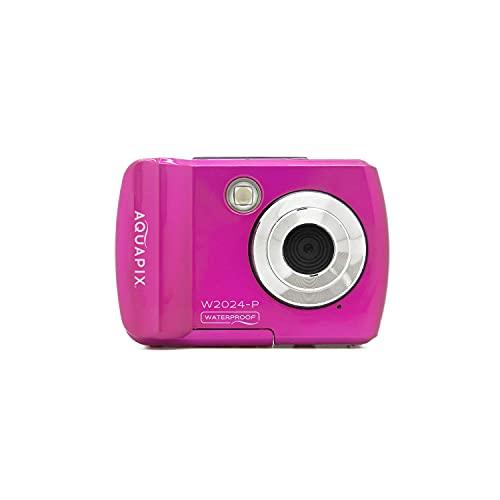 Easypix Cámara Sumergible EASYPIX W2024-I Splash Pink, 14MP Doble Panta, Rosa