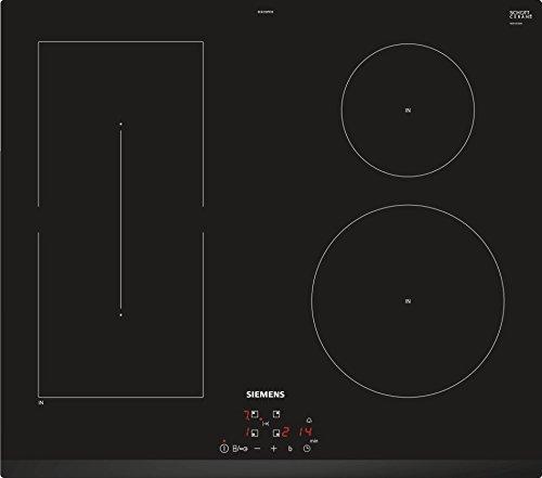 Siemens EE631BPB1E kookplaat, zwart, inductie