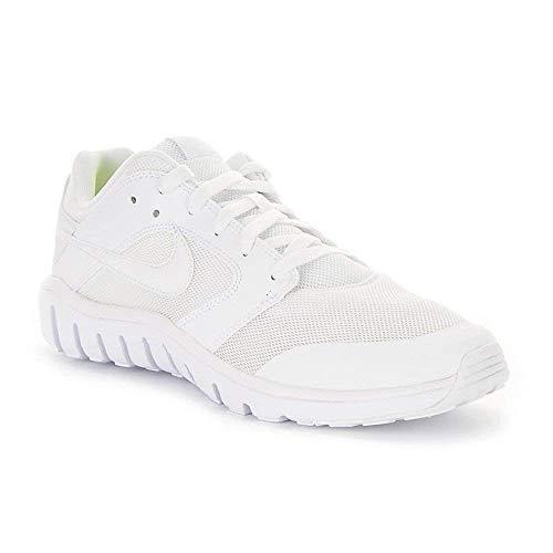 Nike Herren Flex Raid Sneaker, Blanco (Blanco (White/White)), 44.5 EU