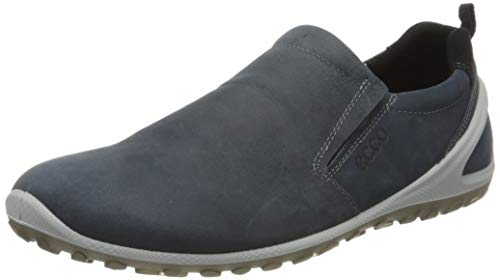 Ecco Herren BIOMLITEM Slip On Sneaker, Blau (Ombre 1415), 45 EU