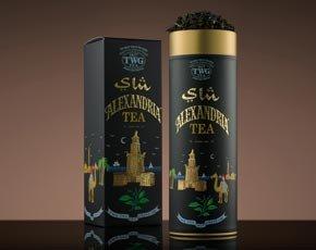シンガポールの高級紅茶 TWGシリーズ 並行輸入品 (Alexandria Tea(アレクサンドリアティー*茶葉)